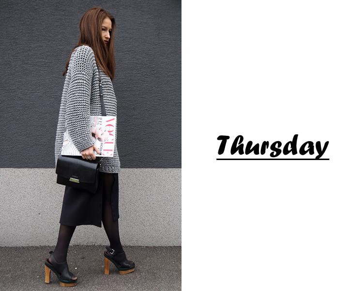 owersize pletený sveter