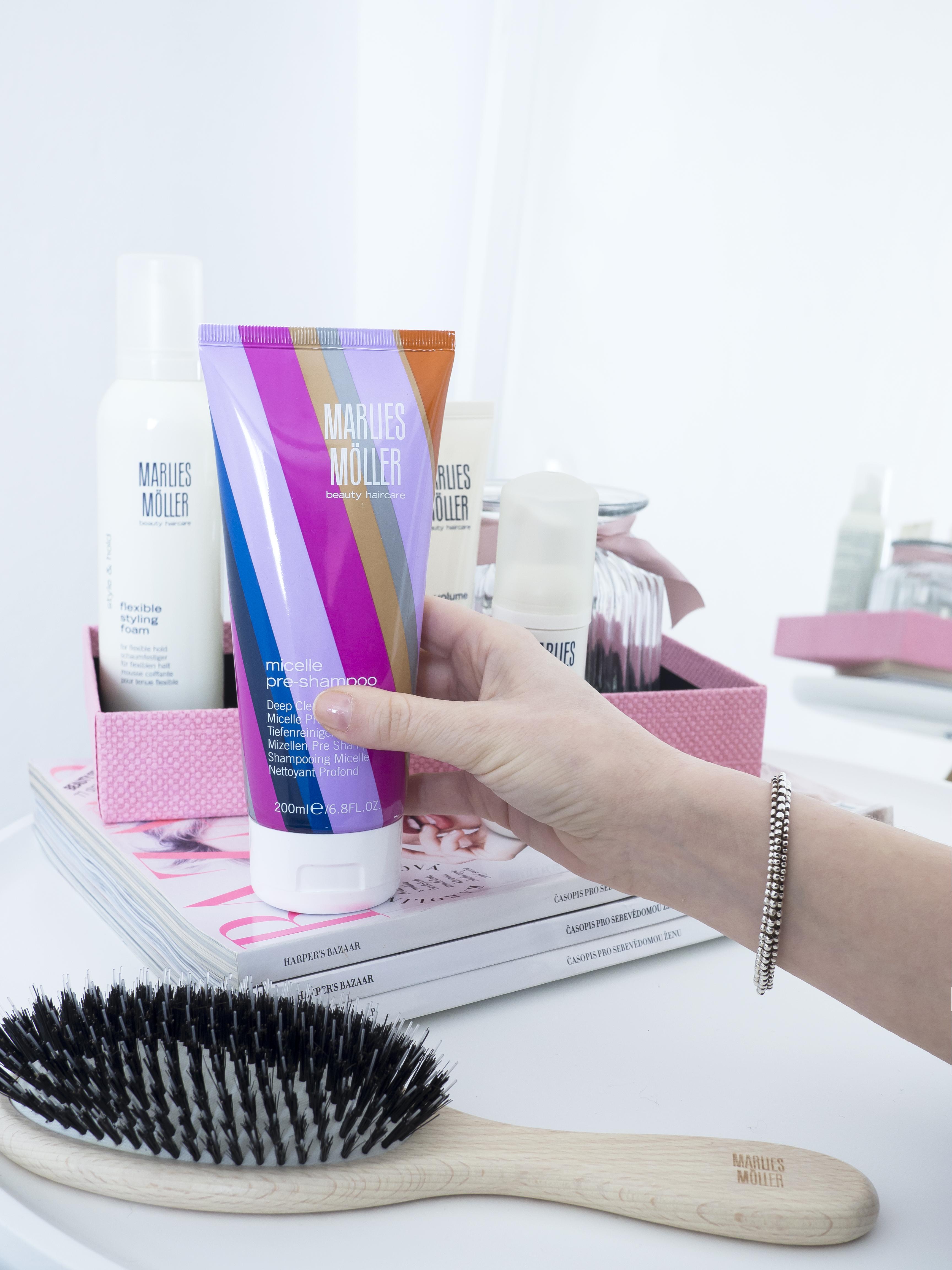 Marlies Möller micelle pre-shampoo šampón