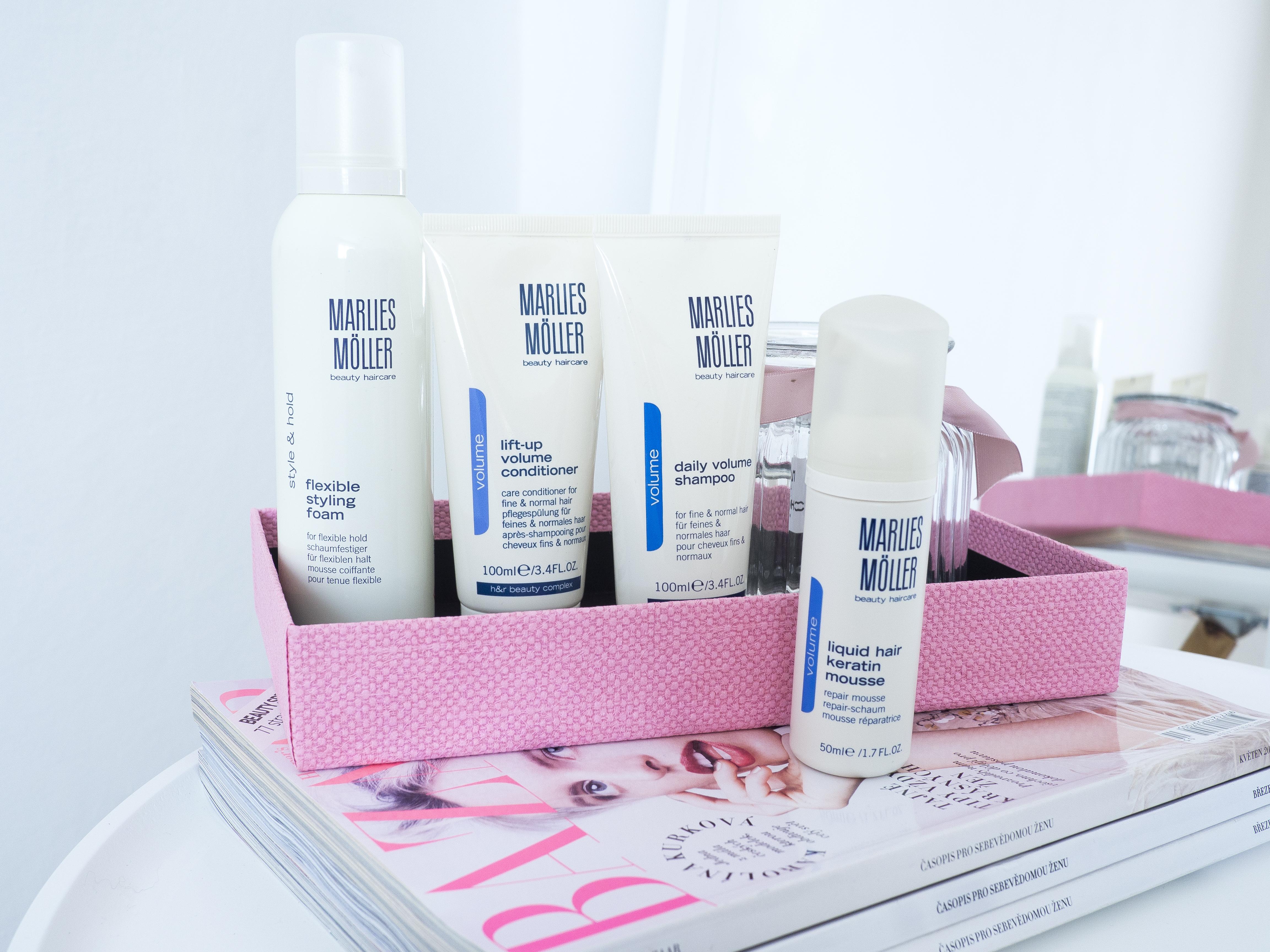 Marlies Möller kvalitné vlasové prípravky FAN parfumérie