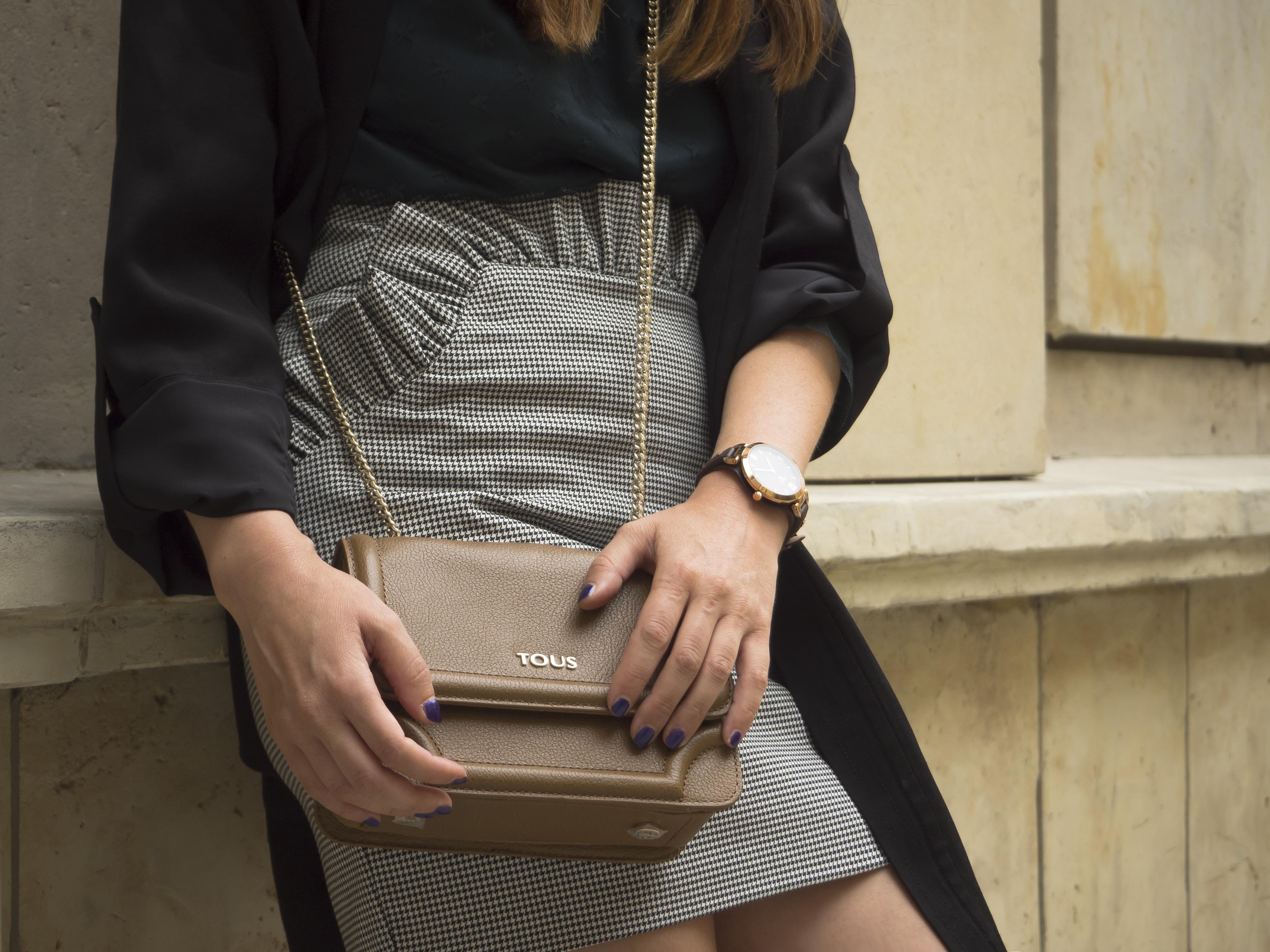 mini sukňa s pepito vzorom