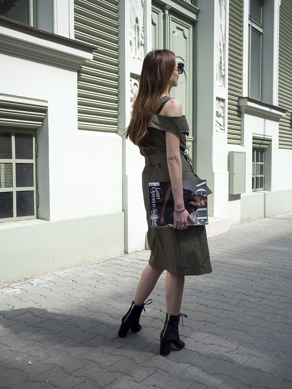 zelené šaty Reserved