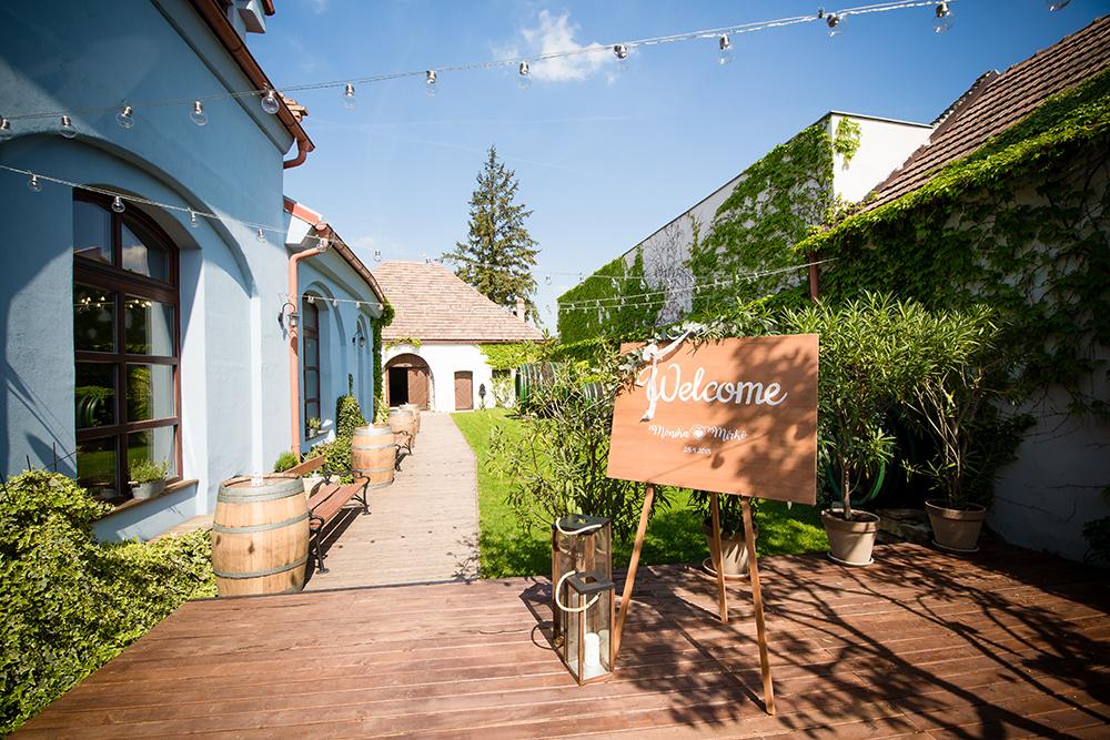 Neco Estate Winery - príprava svadby