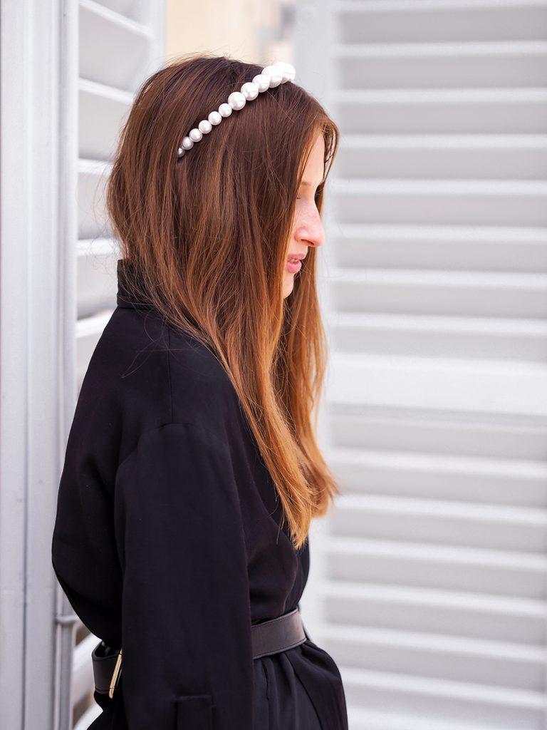 Čelenky s perličkami, čelenky s perlami do vlasov