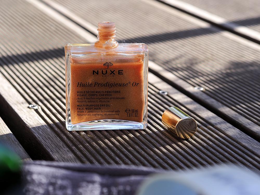 Nuxe Multifunkčný suchý olej s trblietkami