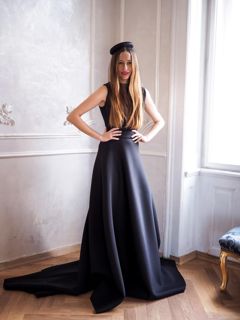 Šaty na ples - Ako sa obliecť na ples - čierne šaty