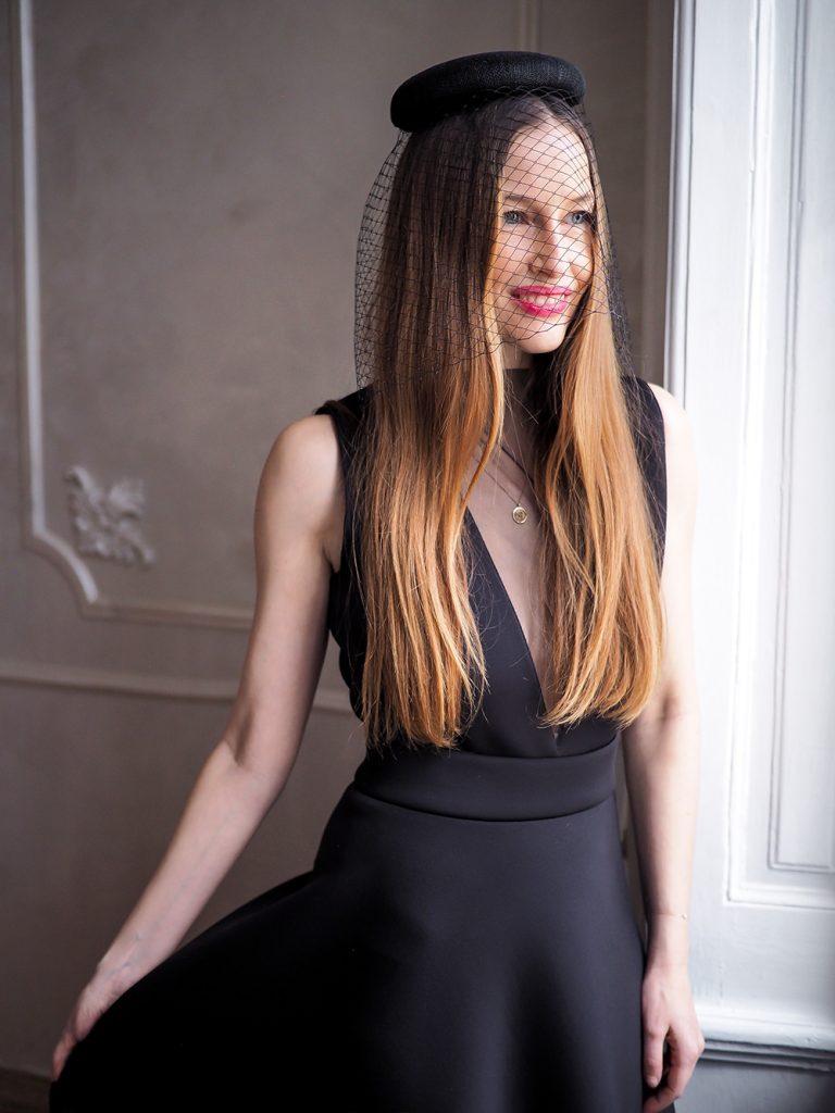 Vlasové doplnky - Šaty na ples - Ako sa obliecť na ples - čierne šaty